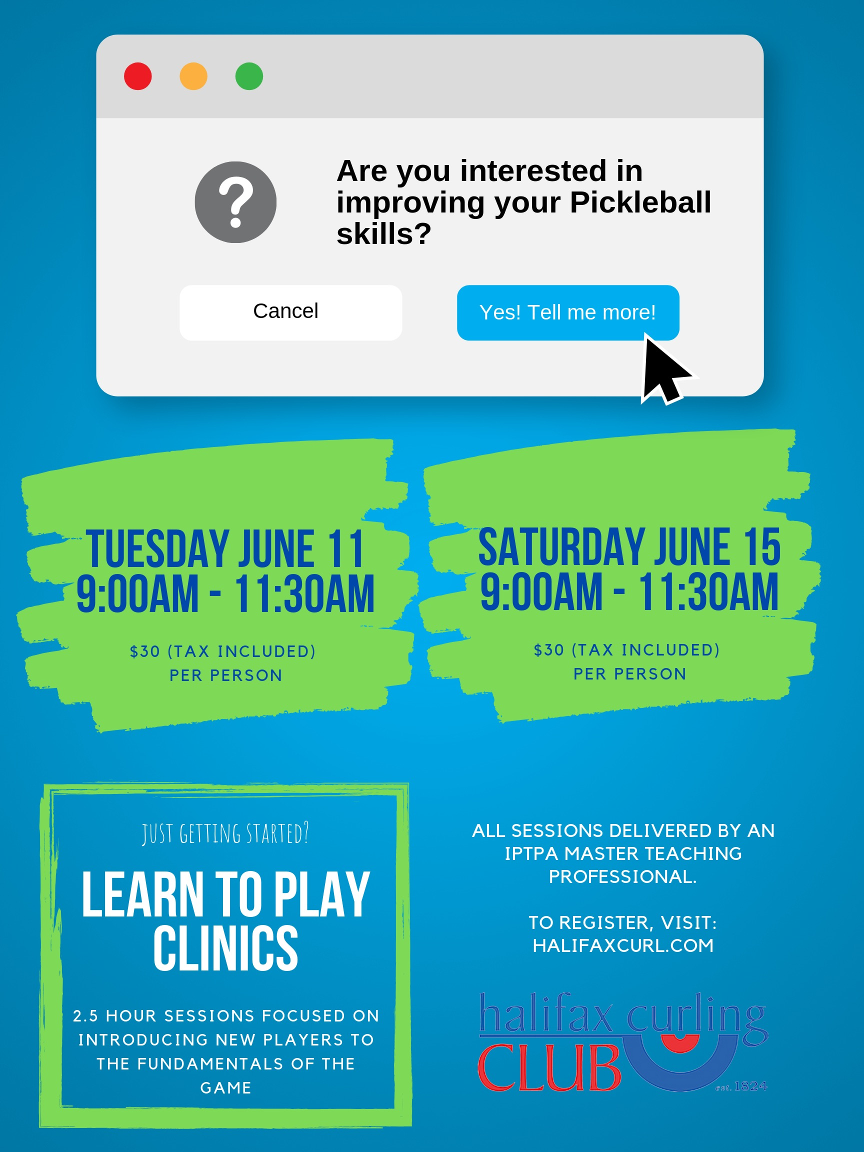 Learn to Play Clinics June 2019 2